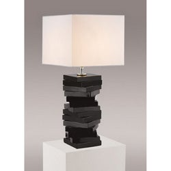 Contemporary Modern Black Table Lamp