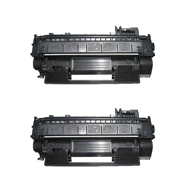 Hewlett Packard CE505X Compatible Black Toner Cartridges (Pack of 2)