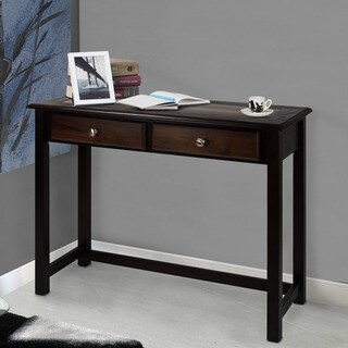 Nassau Espresso Finish Console Table