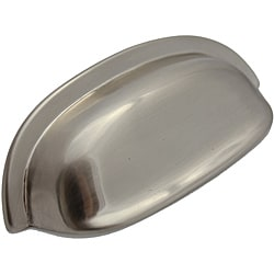 GlideRite 3.5 inch Satin Nickel Classic Cabinet Bin Pull (Pack of 10)