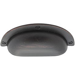 GlideRite 3.625 inch Oil Rubbed Bronze Cabinet Bin Pull (Pack of 10)