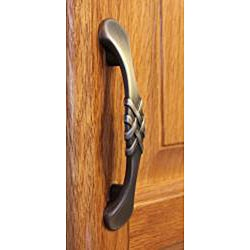 GlideRite Satin Pewter Braided 4.75-inch Cabinet Pulls (Pack of 10)