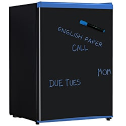 RF-261B: 2.6-cubic foot Blue Erase Board Refrigerator with Energy Star