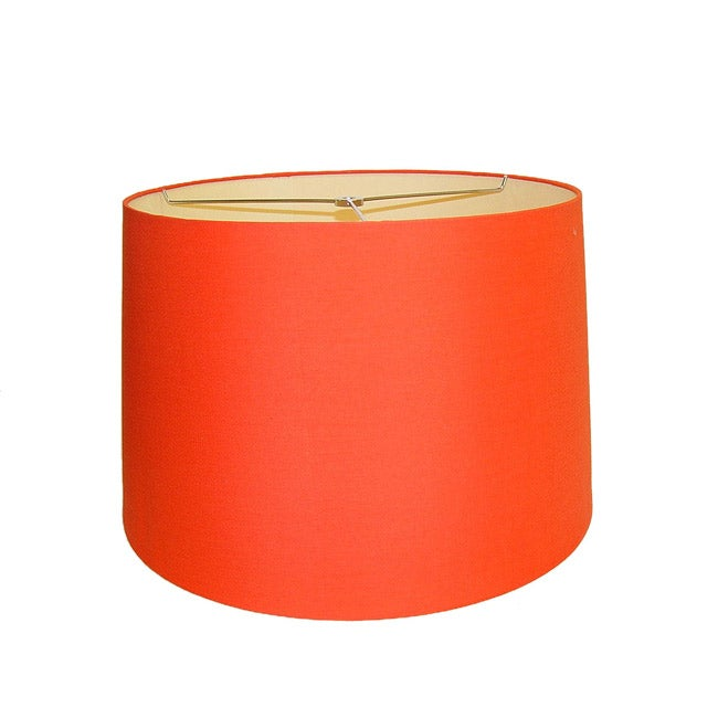Orange Round Hardback Lamp Shade 14341760 Overstockcom Shopping
