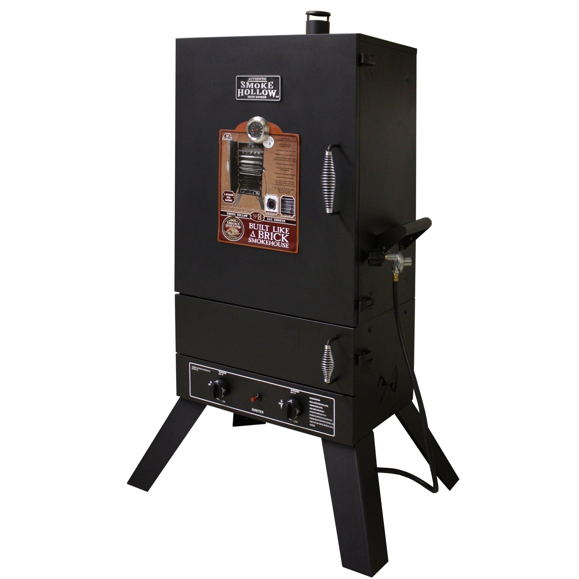 Smoke Hollow 44'' Vertical 2-door Gas Smoker