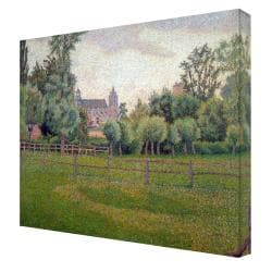 Pissarro 'Church at Gisors' Gallery Wrapped Canvas Art