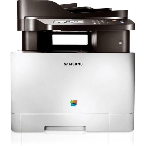 Samsung CLX-4195FW Laser Multifunction Printer - Color - Plain Paper