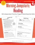 Morning Jumpstarts: Reading Grade 4: 100 Independent Practice Pages to Build Essential Skills (Paperback)