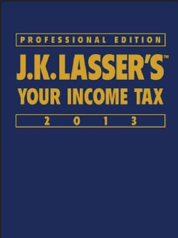 J.K. Lasser's Your Income Tax 2013 (Hardcover)