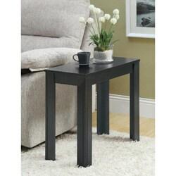 Black Oak Accent Side Table
