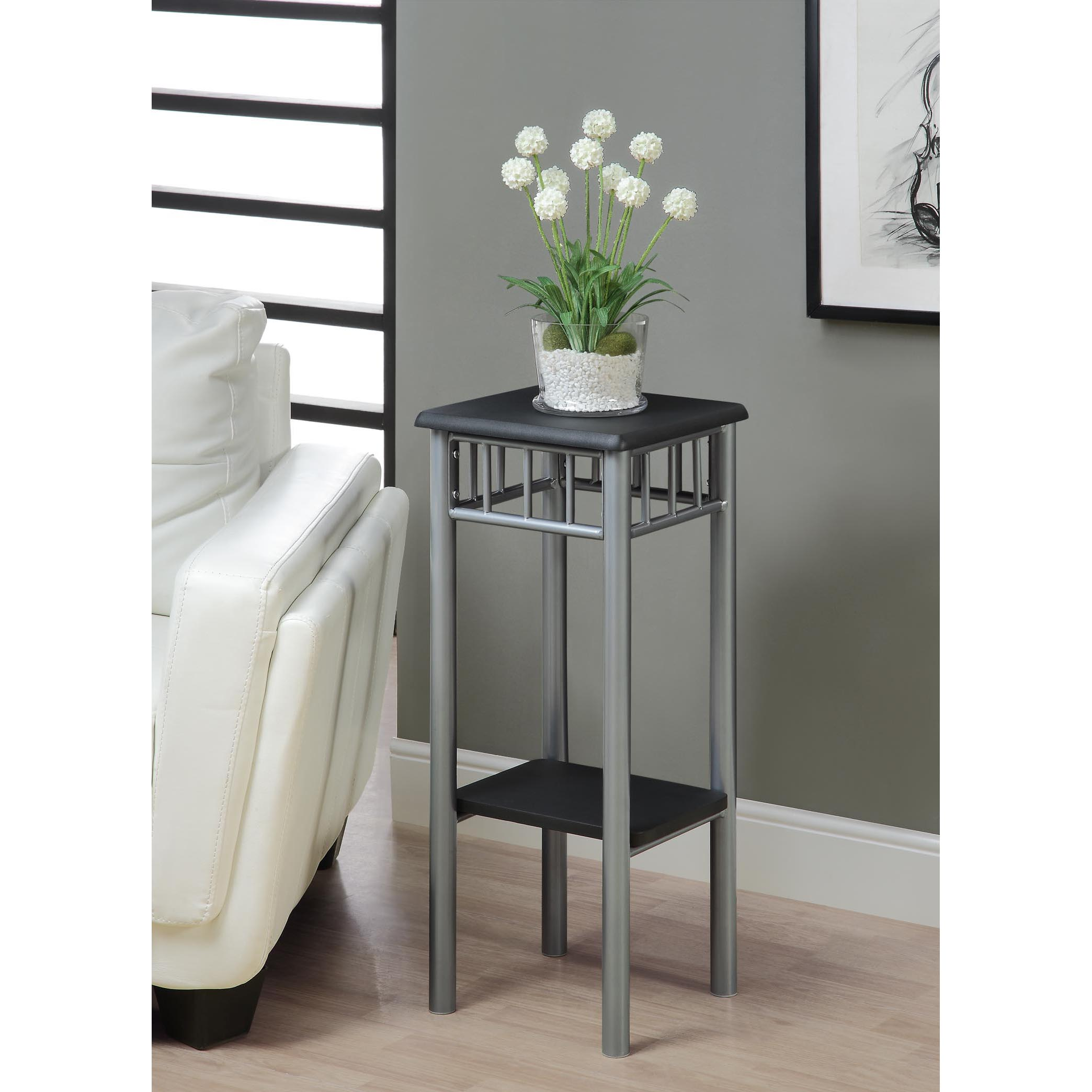 Monarch Black/ Silver Metal Plant Stand at Sears.com