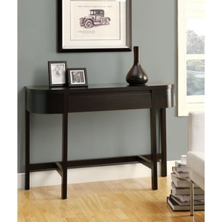 Cappuccino 48-inch Accent Console Table
