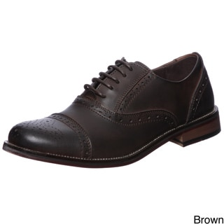 Steve Madden Men's 'Eddee' Leather Oxfords