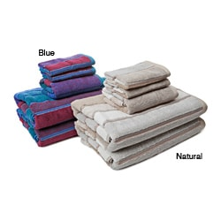 Alexander Julian Block Stripe 5-piece Towel Set
