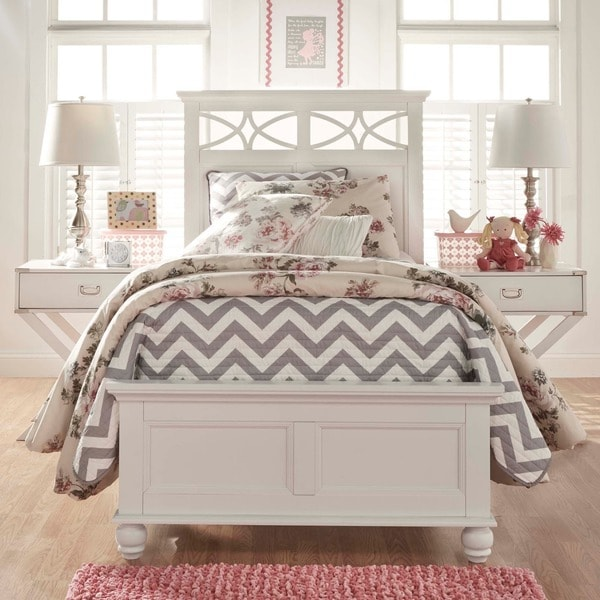 IQ KIDS Piston Cottage Modern Twin-size Low Profile Bed