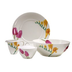 Red Vanilla Dutch Garden 4-piece Completer Set