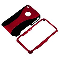 Red/ Black Cup Shape Case/ Screen Protector for Apple iPhone 3G/ 3GS