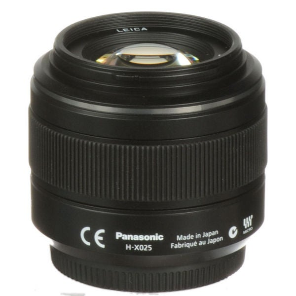 Panasonic SUMMILUX DG H-X025 25 mm f/1.4 Fixed Focal Length Lens for