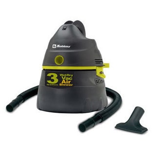Koblenz WD-353K2GUS 3-gallon Compact Wet/Dry Vacuum