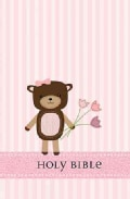 Holy Bible: International Children's Bible, Baby Bear, Girl (Hardcover)