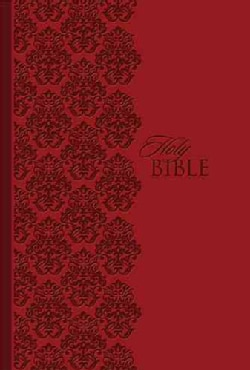Holy Bible: King James Version Study Bible, Ruby Leathersoft, Personal Size (Paperback)