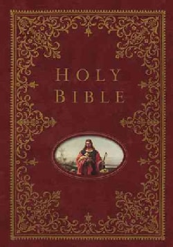 The Holy Bible: New King James Version, Burgundy, The Providence Collection Family Bible (Hardcover)