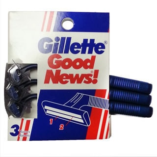 Gillette Good News! 5-count Disposable Razor (Set of 3)