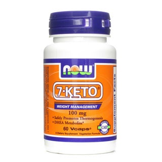 7-Keto Weight Management 100 mg 60 Vcaps