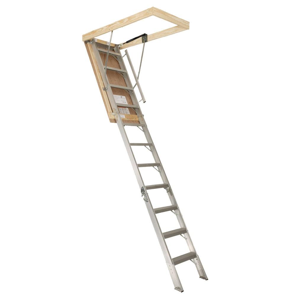 Aluminum Gas Strut 10-foot Attic Stair