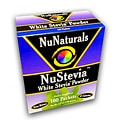 NuNaturals NuStevia White Stevia Powder (100 Packets)