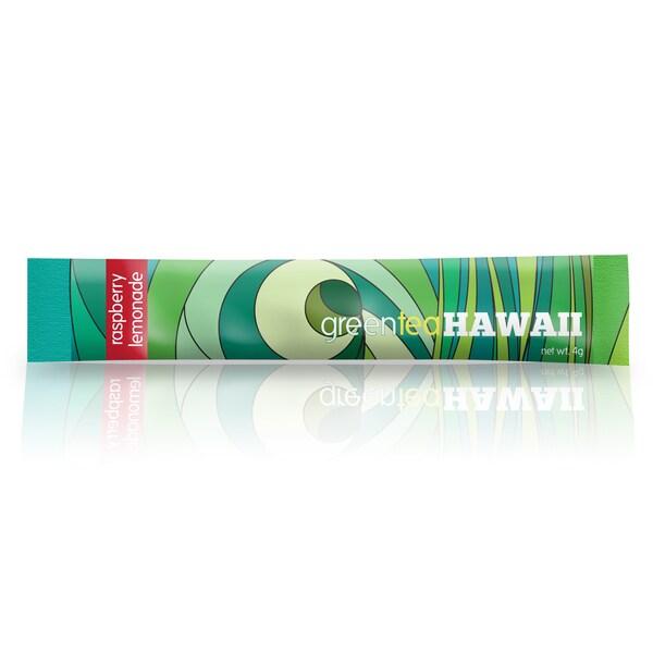 Green Tea Hawaii Antioxidant Raspberry Lemonade (Twelve Packets)
