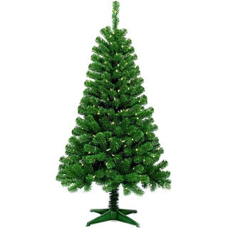 5' Pre-Lit Artificial Christmas Tree