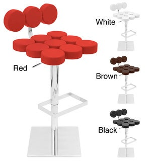 Telia Contemporary Adjustable Barstool