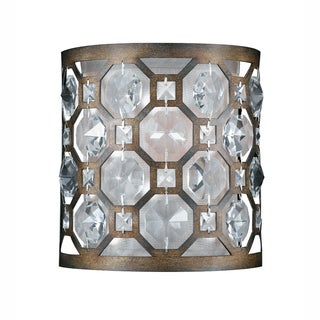 Cartier 1-light Wall Sconce in Weathered Bronze