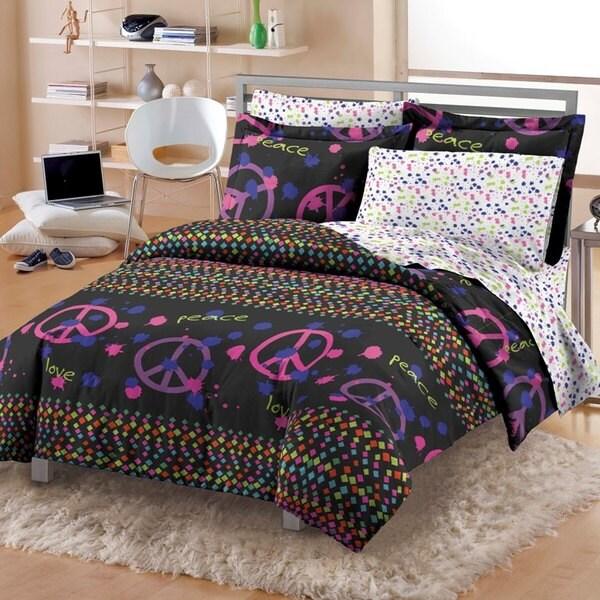 Confetti Peace 7-piece Comforter Set