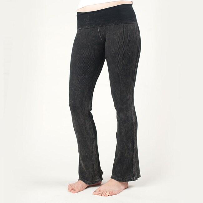 Tabeez Women's Black Stretch Yoga Pants