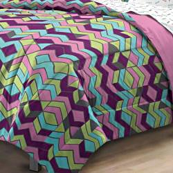 Albuquerque Zig Zag 7-piece Bed in a Bag with Sheet Set