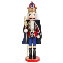 Nutcracker King with Cape (18 Inch)