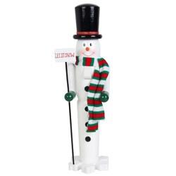 Snowman Nutcracker (18 inch)
