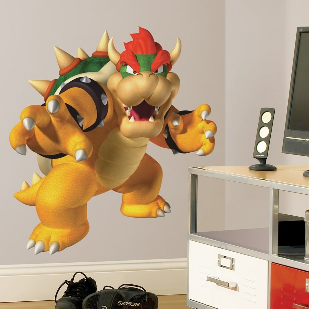 RoomMates Nintendo Bowser Peel and Stick Giant Wall Decal
