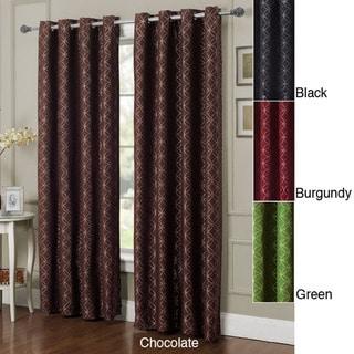 Victoria Classics Grommet 84 inch Curtain Panel