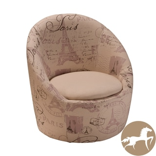 Christopher Knight Home Manuel Beige Printed Fabric Chair