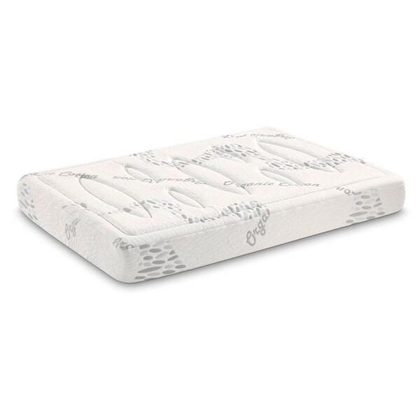 Tobia Tubes 7-zone 10-inch Twin-size Foam Mattress