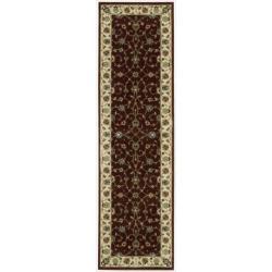 "Traditional Nourison Persian Arts Burgundy Rug (2'3"" x 8')"