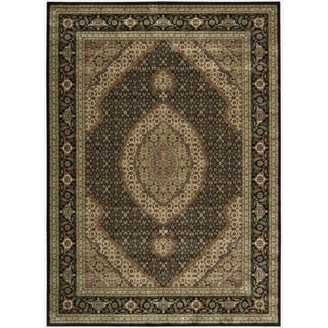 Nourison Persian Arts Black Rug (9'6 x 13')