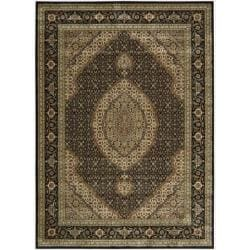 Nourison Persian Arts Black Rug (9'6 x 13')
