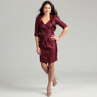 Jessica Howard Women's Beaded 2-piece Dress FINAL SALE