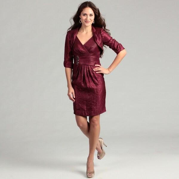 Jessica Howard Women's Beaded 2-piece Dress FINAL SALE
