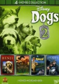 Disney 4-Movie Collection: Dogs 2 (Journey Natty Gan /Rascal / Benji the Hunted / Where the Red Fern Grows) (DVD)