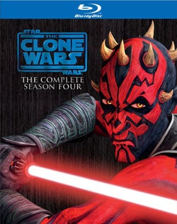 Star Wars: The Clone Wars Season Four (Blu-ray Disc)
